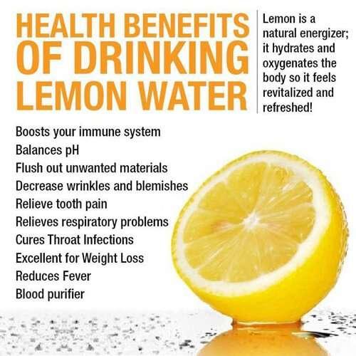 how to make hot lemon water
